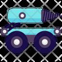 Military Robot Missile Robot Bomb Disposal Robot Icon