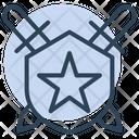 Award Badge Military Icon