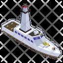 Military Ship Icon