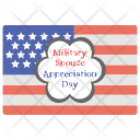 Military Spouse Appreciation Day Icon