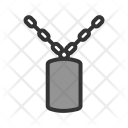 Chain Military Tag Icon