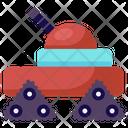 Military Tank Missile Machine Military Robot Icon