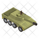 Military Tank Tank Battle Tank Icon