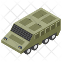 Military Tanker Army Tank Armoured Vehicle Icon