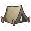 Military Army Tent Icon