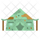 Military Tent Army Tent Tent Icon