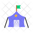 Military Tent Icon
