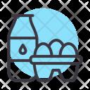 Milk Egg Protein Icon