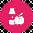 Milk Apple Protein Icon