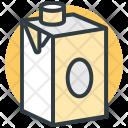 Milk Pack Carton Icon
