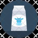 Milk Bottle Cow Icon