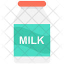 Milk Bottle Beverage Icon