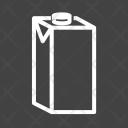 Milk Box Packed Icon