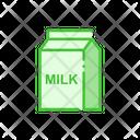 Milk Milk Pack Packing Icon