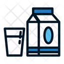 Milk Milk Pack Packed Milk Icon