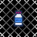 Milk Milk Bottle Bottle Icon