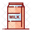 Milk Milk Farming Drink Icon