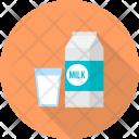 Milk Restaurant Concept Icon