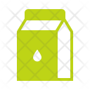 Milk Tetrapack Packaged Icon