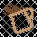Milk Cream Coffee Icon