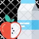 Milk Fruit Food Icon