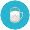 Glass Milk Icon