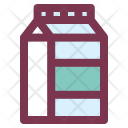 Breakfast Milk Pack Icon