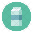 Milk Bag Box Icon
