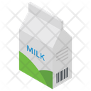Milk Tetra Pack Milk Package Icon