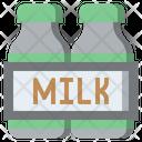 Milk Food And Restaurant Healthy Food Icon