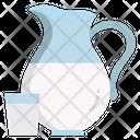 Milk Milk Jar Milk Jug Icon