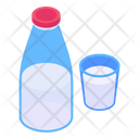 Dairy Product Milk Healthy Drink Icon