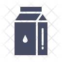 Milk Pack Tetrapack Icon