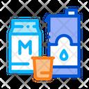 Bag Milk Factory Icon