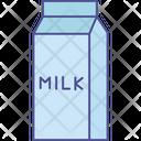 Fresh Milk Beverage Icon