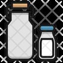 Milk Bottel Icon