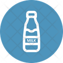 Milk Bottle Beverage Breakfast Icon
