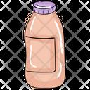 Milk Bottle Liquid Food Glass Bottle Icon