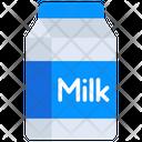 Milk Bottle Liquid Food Milk Can Icon
