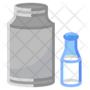Bottle Milk Glass Icon