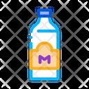 Bottle Store Milk Icon