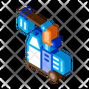 Milk Bottle Transfer Icon