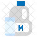 Milk Glass Bottle Icon