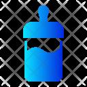 Milk Bottle Pacifier Icon