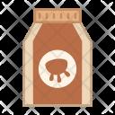 Milk Bottle Packet Icon
