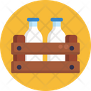 Food Delivery Milk Bottle Icon