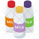 Milk Bottle Milk Flask Milk Jar Icon