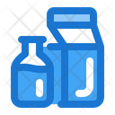 Milk Box Package Product Icon