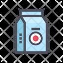 Milk Box Milk Carton Milk Pack Icon