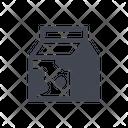 Milk Box Icon